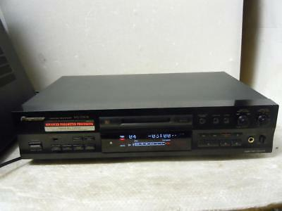 Pioneer MJ-D508 Minidisc Recorder-Faulty-Distorted Sound-No Remote
