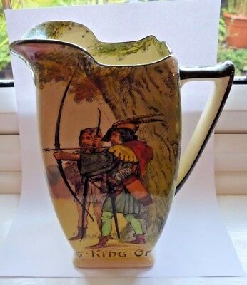 Royal Doulton 'Under The Green Wood Series' Jug 'King of Archers'