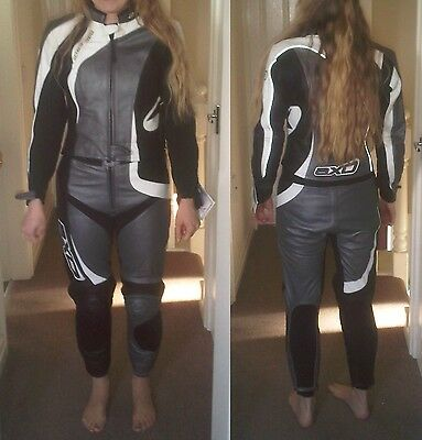 AXO Ladies Leather Suit Jacket and Trousers