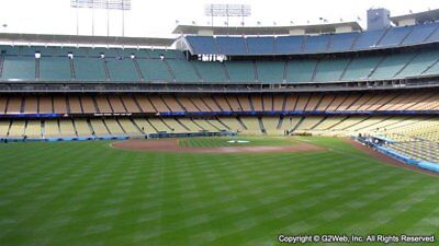 2 Asros vs Dodgers 10/31 World Series Game 6 Tickets 4th Row LF Pavilion VIP 303
