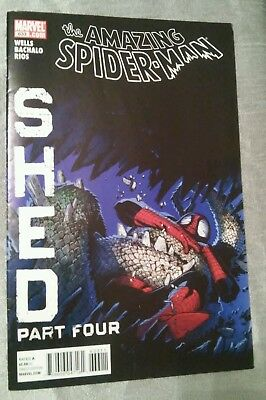 Amazing Spider-Man #633 Shed Marvel 2010 VFN P&P Discounts