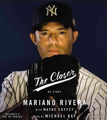 The Closer My Story by Mariano Rivera 9781478979029 (CD-Audio, 2014)