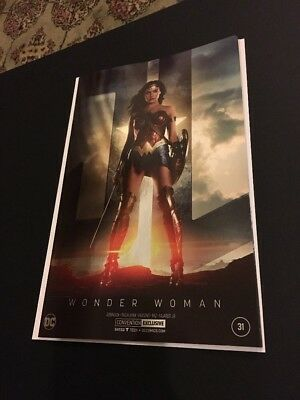 NYCC 2017: Wonder Woman #31 Gal Gadot JLA Movie Photo Foil Convention variant