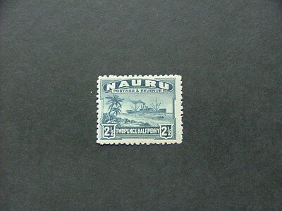 Nauru 1924 2 1/2d slate-blue SG30a MM