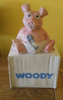Wade NatWest Pigs WOODY (Boxed) 1980's