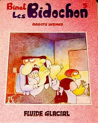 "COLLECTION DE 10 albums des ""BIDOCHON"" par BINET"