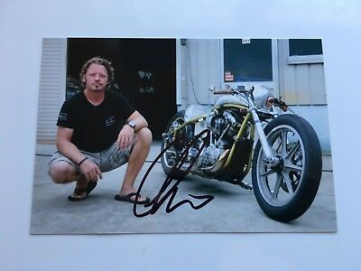 Charlie Boorman Hand Signed Colour Photo