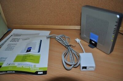 Linksys WAG354G 54 Mbps 10/100 Wireless G Router