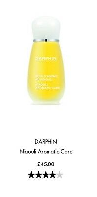 Darphin NIAOULI Aromatic Care Oil - BRAND NEW - Without Packaging (came in set)