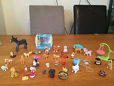 Girls Toys, Figure Bundle, Dogs, Cats , Ponies And Lots More
