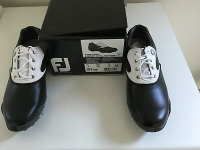 Footjoy LoPro Collection Ladies Golf Shoes - UK Size 3 Black
