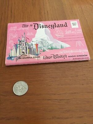 Disneyland Vintage Photograph Collection Set