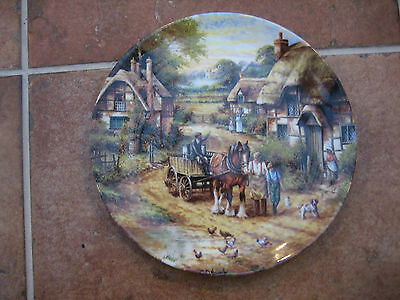 Wedgwood Country Days Collectors Plate - Early Morning Milk