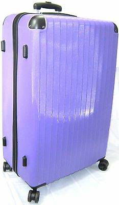 Xl Hard Shell 4 Wheels Spinner Abs Trolley Case Suitcase