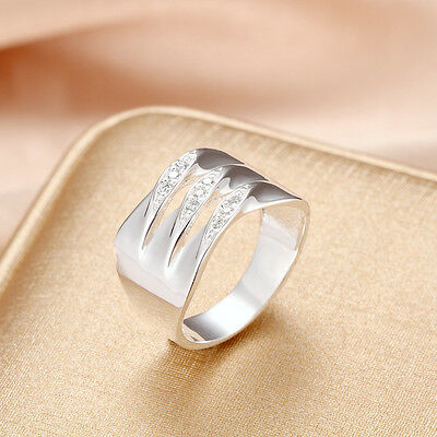 Fashion Jewelry Solid 925 Sterling Silver Men/Women Ring