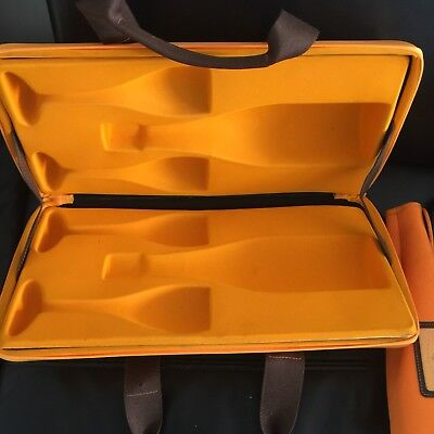 Veuve Clicquot Champagne Traveler/Cooler Case quality champagne cooler. Stylish