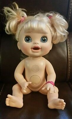 Baby Alive 2012 Real Surprises Blonde Interactive Doll Bilingual