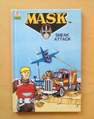 M.A.S.K 1986 Mask Sneak Attack Vintage Picture Book