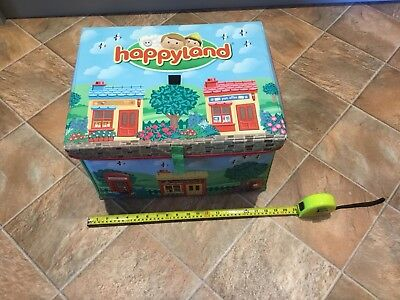 ELC Happyland Storage Box / Reversible Play Mat Happy Land