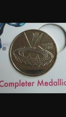 Olympic Completer Medallion London 2012 Rare