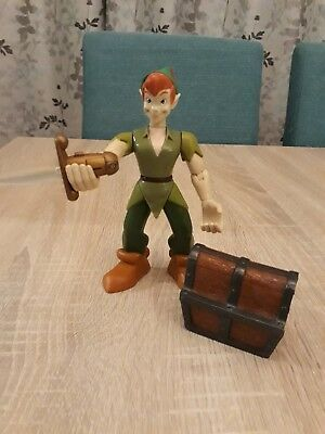 Peter Pan Figuirine with opposable arms