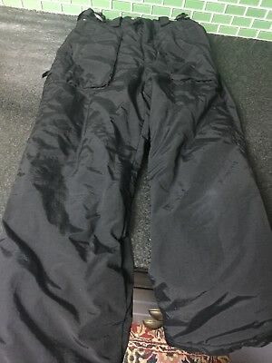 Columbia Youth Boys Girls Waterproof Snow Pants Snow  Lined With Fleece Size 8