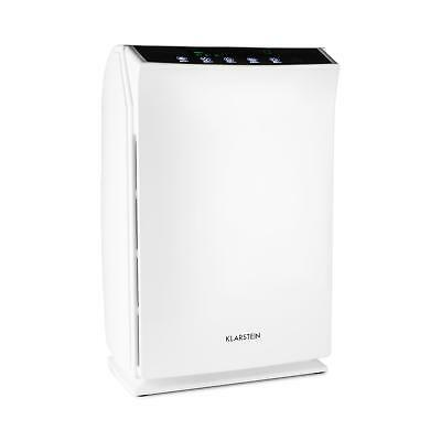 White Air Purifier Room Refresher Ioniser - Hepa Filter Aroma Shop Home 36 W
