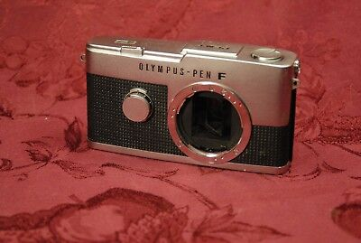 Rare Camera Olympus-Pen F Medical Use Type  I. Shutter Work.