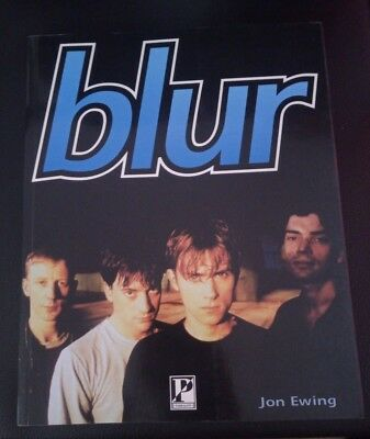 1996 BLUR by Jon Ewing Large softback book Britpop
