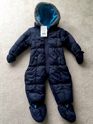 Baby Boys Snowsuit/ Traditional Pramsuit, Age 6-9 months, BNWT **bargain**
