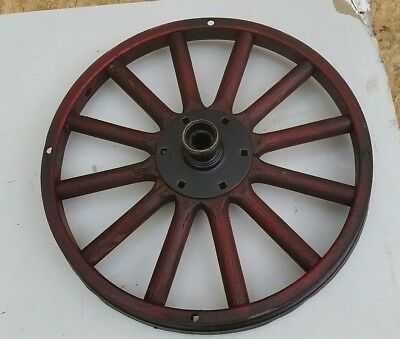 Model T Ford Early Wood Spoke Wheel Rim Assembly wooden