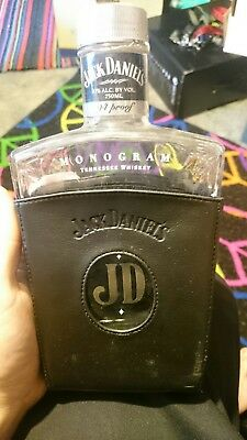 Jack Daniels Discontinued Empty monogram battle very rare in great condition