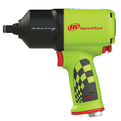 """Ingersoll Rand 1/2"""" dr Quiet Air Impact Wrench Special Edition Green! 2135QXPR-G"""