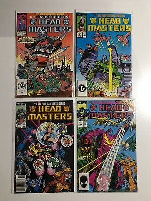 Marvel Transformers HEADMASTERS 1-4 Complete Series