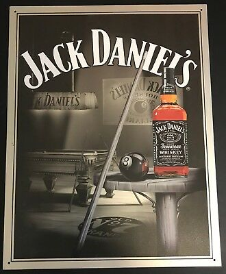 "Jack Daniel's Sign ""Pool Room"" Item #1135"