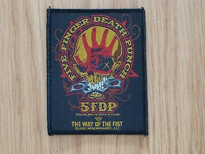 Five Finger Death Punch - The Way Of The Fist Sew On W-Patch Official Band Merch