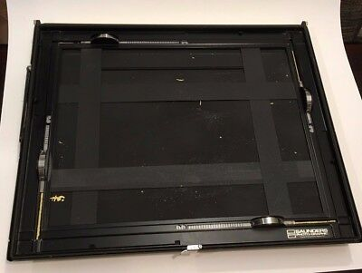 """SAUNDERS 11""""X14""""  FOUR-BLADED PHOTO ENLARGING EASEL Good Condition"""