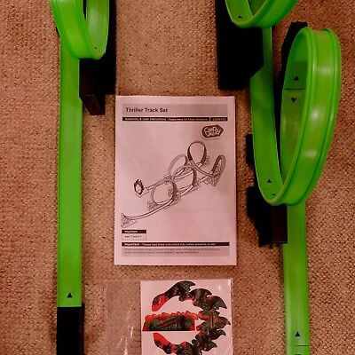 HOT WHEELS THRILLER TRACK SET- 5 loops EX complete cond. Instructions/stickers