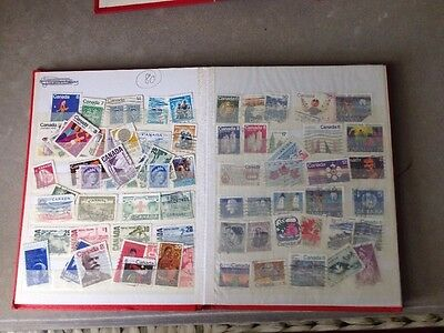 Collection~Approx -80 Canadian Stamps