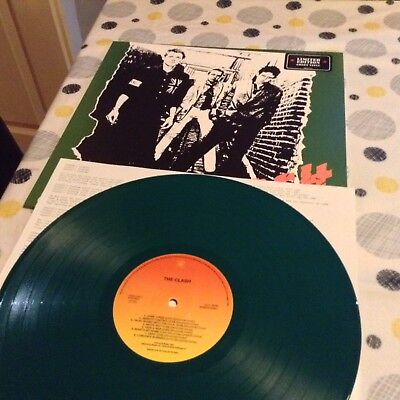 The Clash - Green Vinyl Record LP - Limited Edition