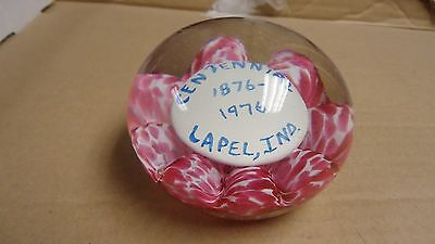 St. Clair Glass Paper Weight,