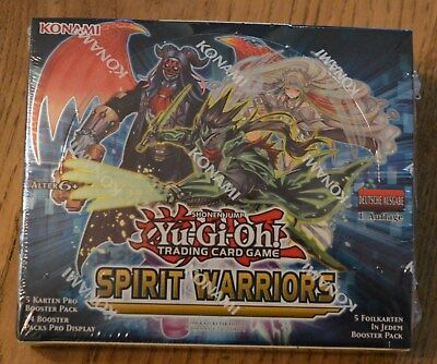 Yu-Gi-Oh! Spirit Warriors 24 Booster Display (de) 1. Auflage Neu & OVP