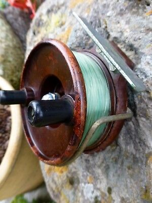 Vintage Collectable Hartleys of Melbourne Bakelite Sea or Lake reel 1940s-50