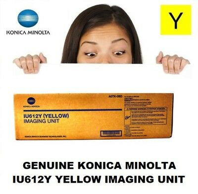 Genuine Konica Minolta IU612Y Yellow Imaging Unit C452 C552 C652