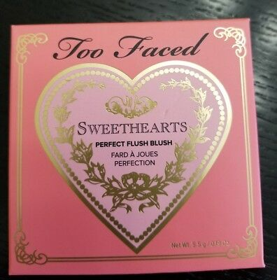 Too Faced Sweethearts Perfect Flush SPARKLING BELLINI Blush NIB 100% AUTHENTIC