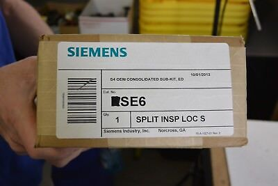 SE6 Siemens S4 Switchboard Twin Mounting Kit for ED Circuit Breaker Frame  NEW