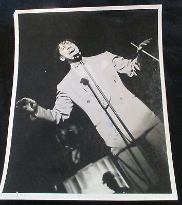 Cab Calloway, Live In Concert, Signed - Unpublished