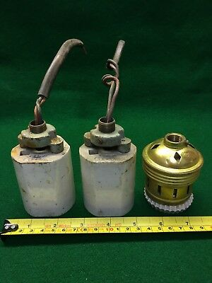 Big Vintage Industrial Lamp Bulb Fittings