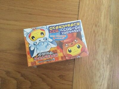 Japanese Sealed Pokemon Exclusive Pikachu Alolan Vulpix Cosplay Box