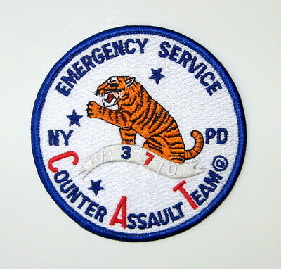 New York Police Department Emergency Service Counter Assault Team Patch NYPD